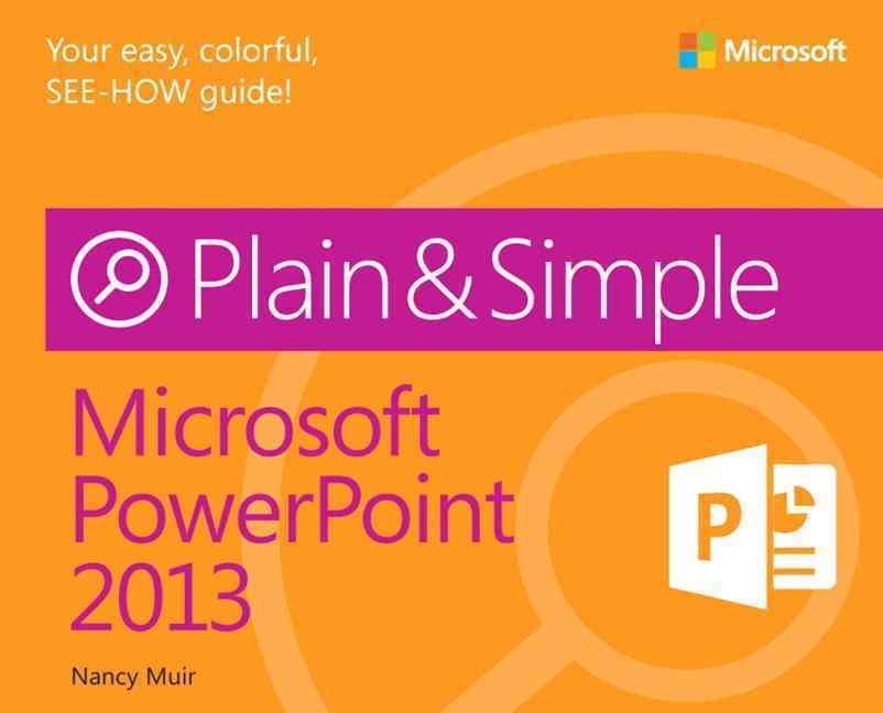 Microsoft Powerpoint 2013 By Muir, Nancy